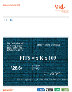 LED Reliability Data